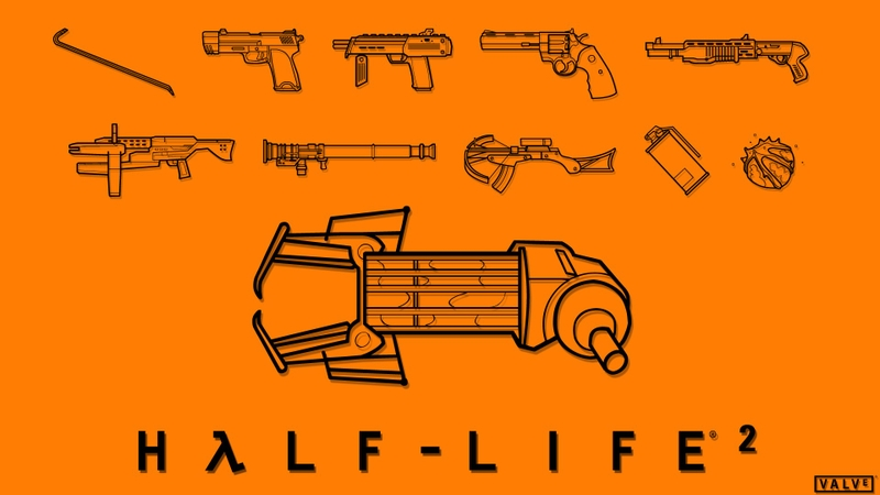 video games valve corporation weapons crowbar halflife 2 gravity gun orange box 1920x1080 wallpa_www.wall321.com_63