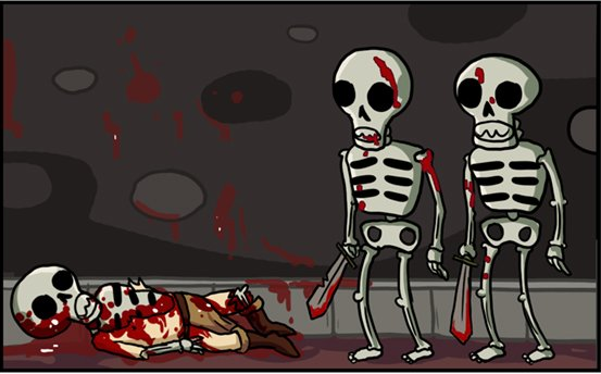 Skeletons in video games